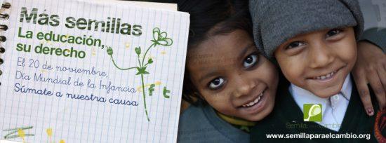 Programa educativo - Campaña Más Semillas