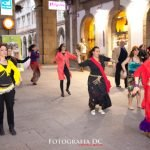 Las participantes del flashmob Bollywood © Daniel Cabanas