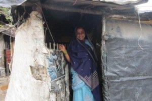 Laltusi Shekh muestra su hogar