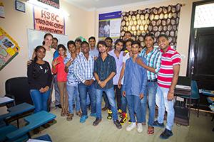 Estudiantes de Open Eyes Project