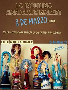 Semilla celebrará el Día de la Mujer en La Inquilina Handmade Market