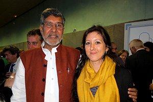 El Nobel de la Paz, Kailash Satyarthi, destaca la educación como el derecho más básico