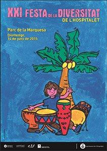 """Plantando """"semillas"""" en la XXI Festa de la Diversitat en Hospitalet de Llobregat"""