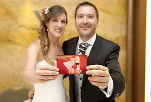 """""""Una boda me parece un momento ideal para acordarse de los que no lo tienen tan fácil y compartir ese día con ellos"""""""