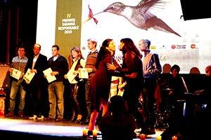 Semilla para el Cambio premiada por la agencia de Viajes Tarannà en Barcelona.