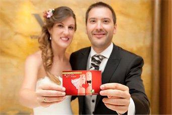 Anayet y Javi en su boda