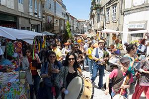 Semilla celebra la llegada de la primavera en Santiago de Compostela