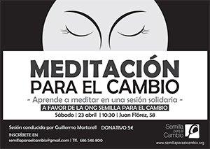 Guillermo Martorell dirige el sábado 23 en A Coruña una sesión de meditación solidaria