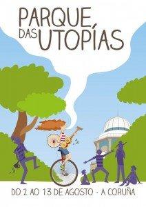 Regalos solidarios, chapas y tatuajes, este viernes 12 en el Parque das Utopías de A Coruña