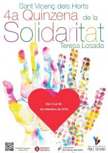 Cartell Quinzena Solidaritat