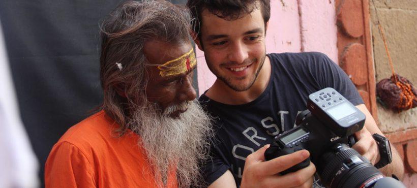 """«Dedicar mi exposición de fotos a Semilla es la manera de que el círculo fluya y se cierre en Varanasi"""""""