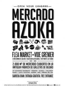Mercado solidario Azoka en Bilbao