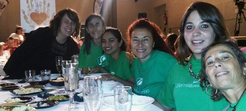 Presentación de Semilla como miembro de la mesa solidaria de Sant Vicenç del Horts