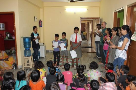 Los tres finalistas: Roshan, Sahil y Adhori