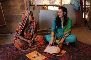 Asha Bibi, beneficiaria de los proyectos de Semilla para el Cambio