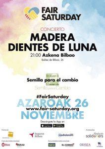 Concierto Madera Dientes de Luna Azkena Bilbao