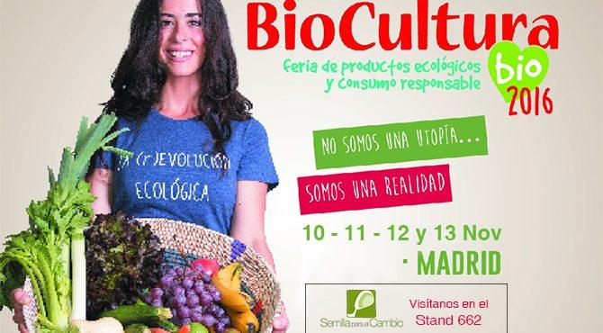Semilla llevará de nuevo sus productos solidarios a Biocultura Madrid