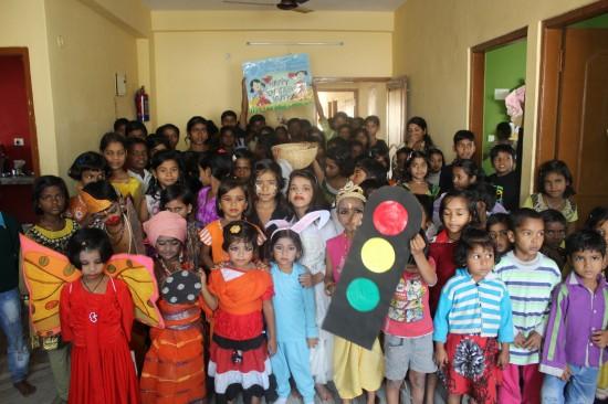 En Semilla para el Cambio celebramos el Día del Niño en India