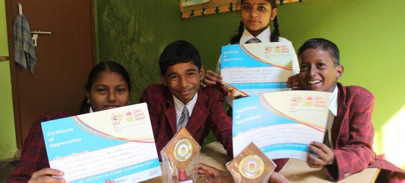 Cuatro estudiantes de Semilla quedan finalistas en una competición interescolar