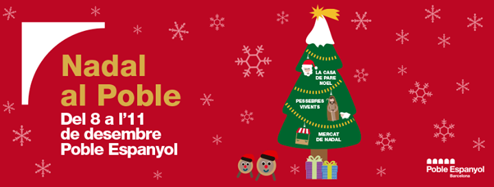 Semilla participa el 8, 10 y 11 de diciembre en la Feria de Navidad del Pueblo Espanyol de Barcelona