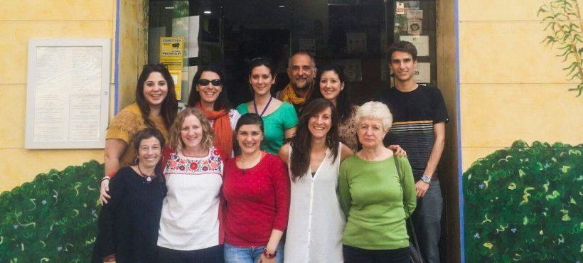 Un agradecimiento a los voluntarios y voluntarias  que trabajan con Semilla por un mundo más justo