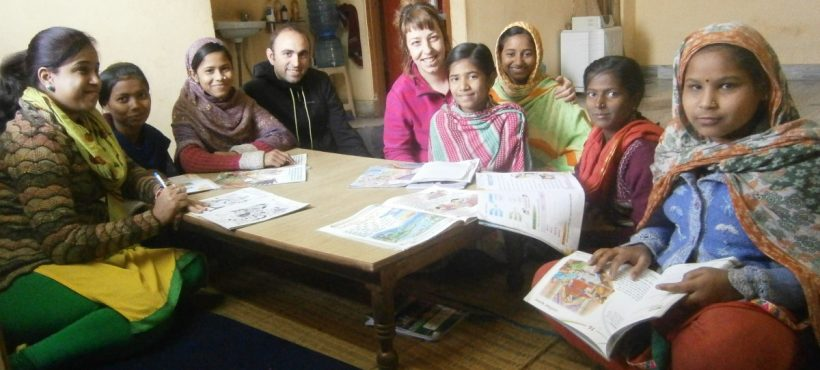 Parekide Elkartea visita de nuevo los proyectos de Semilla en Varanasi