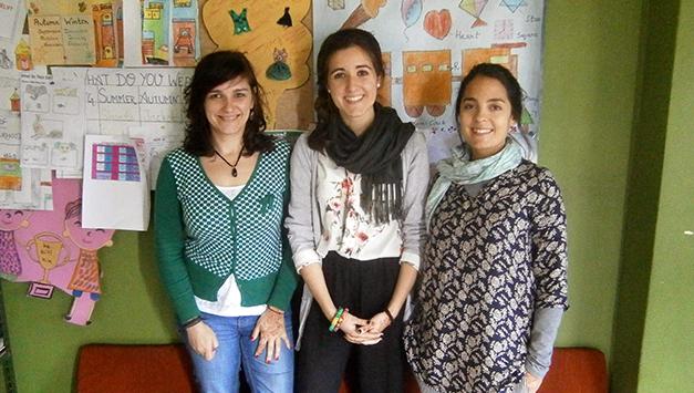 Semilla empieza el año con un nuevo equipo de voluntarias en Varanasi