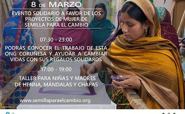 Jornada solidaria en Arteixo a favor de los proyectos de mujer de Semilla