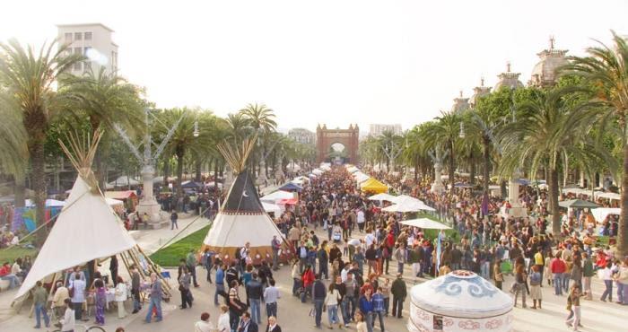 Semilla para el Cambio participa en la Fira del Dia de La Terra en Barcelona