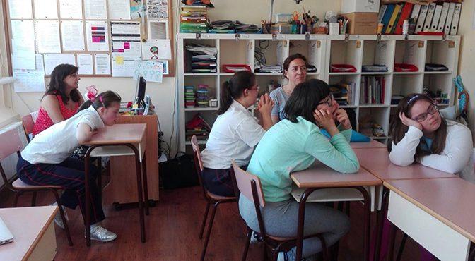 Estudiantes hermanados en la diversidad