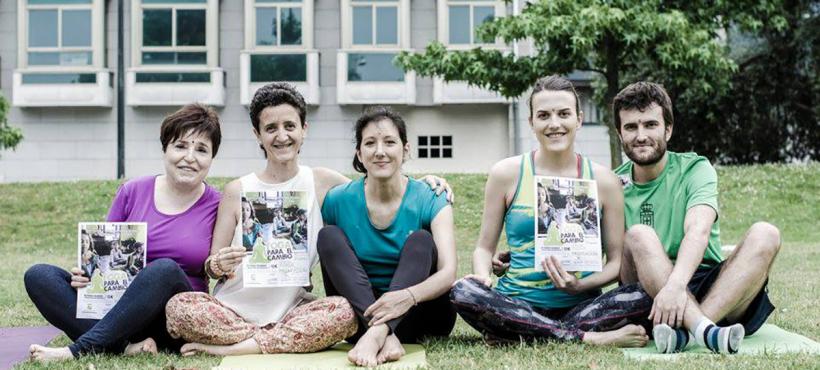 Un ejemplo de solidaridad y cooperación del sector del yoga