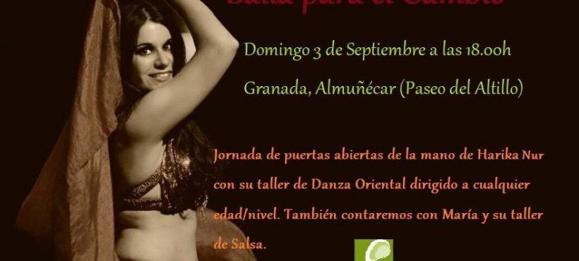 """""""Baile para el Cambio"""" este fin de semana en Almuñecar"""