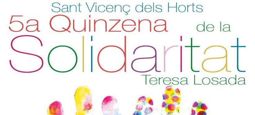 Semilla cumple un año en la Mesa solidaria de Sant Vicenç dels Horts participando en la 5ª edición de la Quincena de la Solidaridad