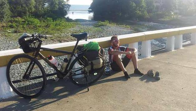 Recorrido solidario en bicicleta por India