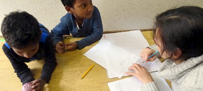 Evaluando a los más pequeños para ser escolarizados