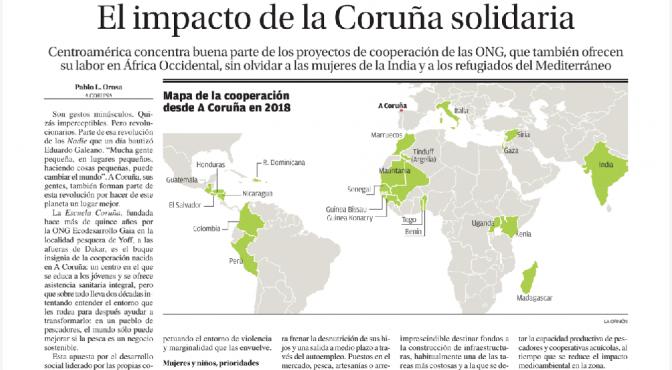 El impacto de la Coruña solidaria