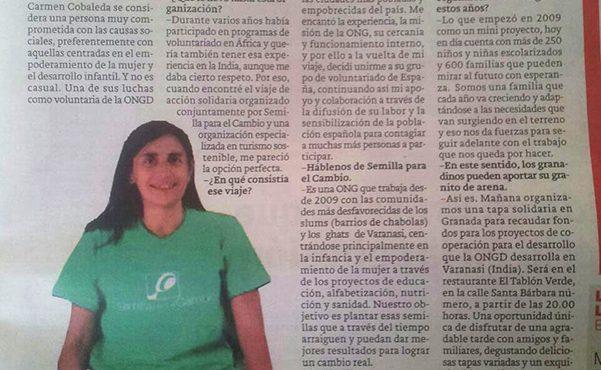 Granada es una ciudad muy solidaria y comprometida