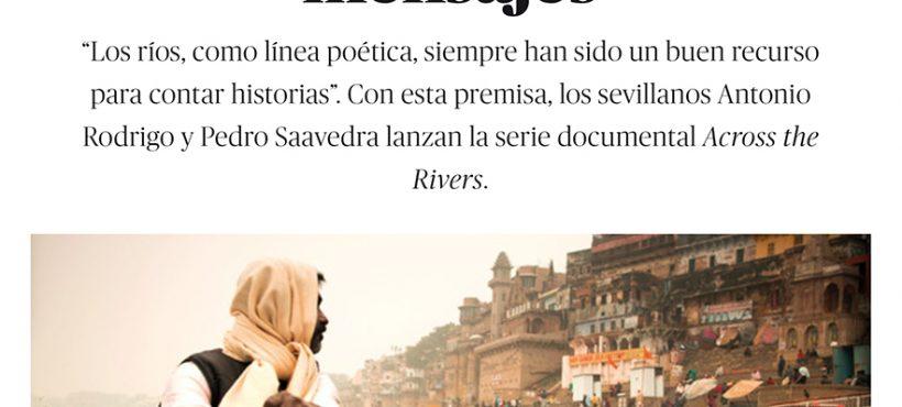 Cuando los ríos llevan mensaje