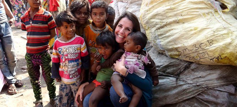 """""""En mi primera visita a los 'slums' ya supe que me iré más rica de lo que llegué"""""""