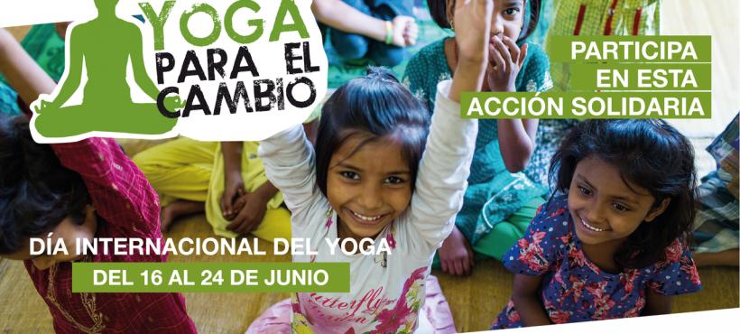 Semilla y Yoga en red organizan la segunda edición de Yoga para el Cambio