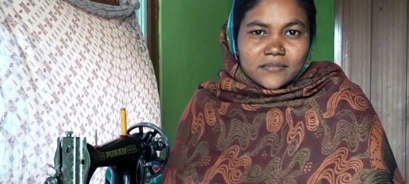 """""""Con los talleres y cursos de Semilla he podido comprar mi propia máquina de coser y tener una profesión"""""""