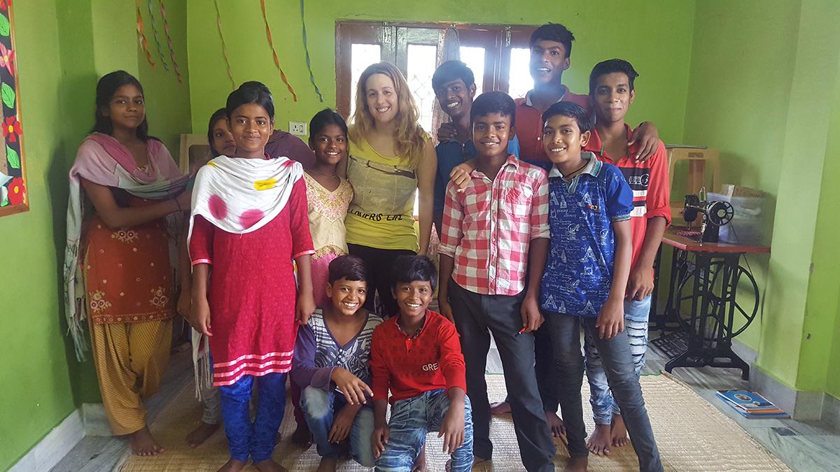 Educación en India - Voluntariado -semilla para el cambio