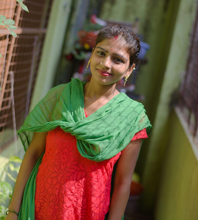 Promotora de salud -Varanasi - ONG semilla para el cambio