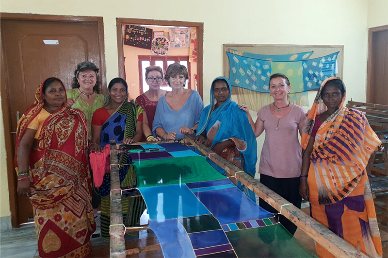 Viaje acción solidaria - visita Marina Silk - Semilla para el Cambio