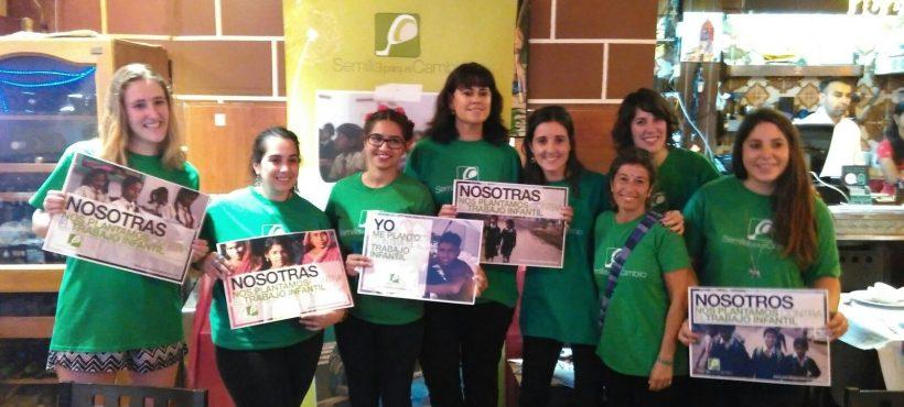 El grupo de voluntariado de Semilla para el Cambio en Barcelona cumple su 5º aniversario