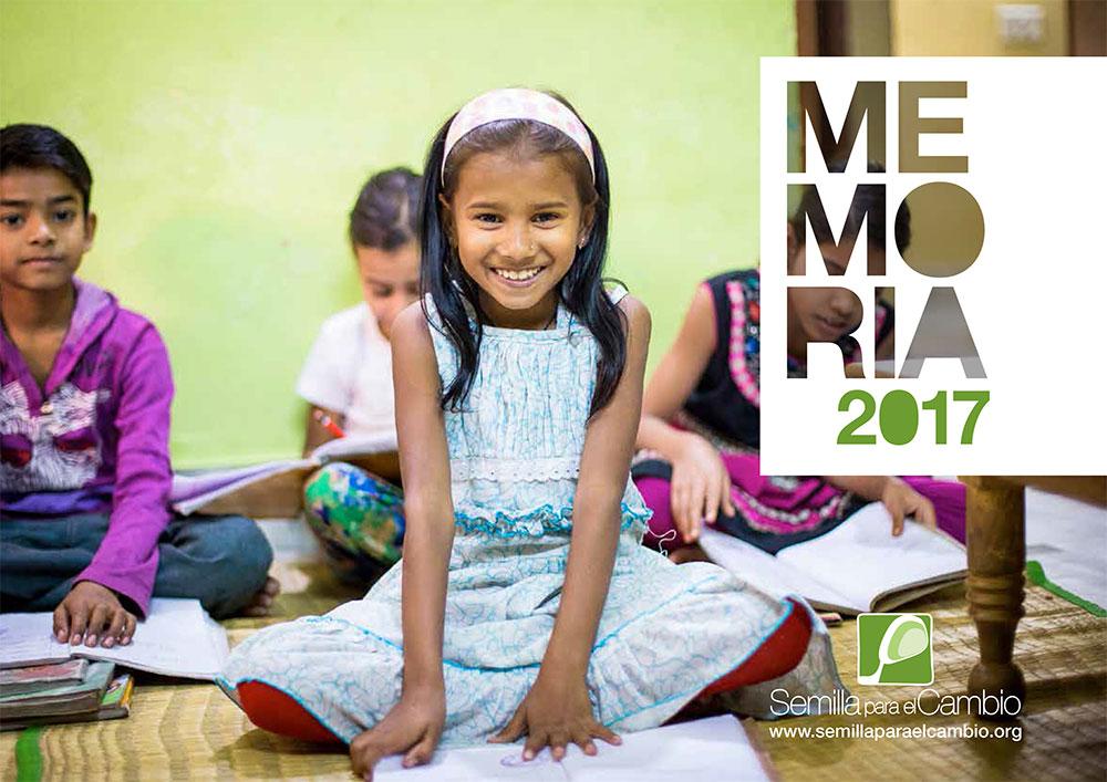 Memoria 2017- Semilla para el Cambio - ONG
