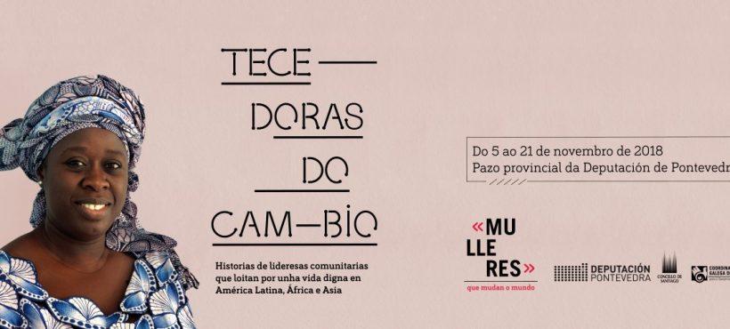 La exposición «Tecedoras do Cambio» se podrá ver este mes en Pontevedra