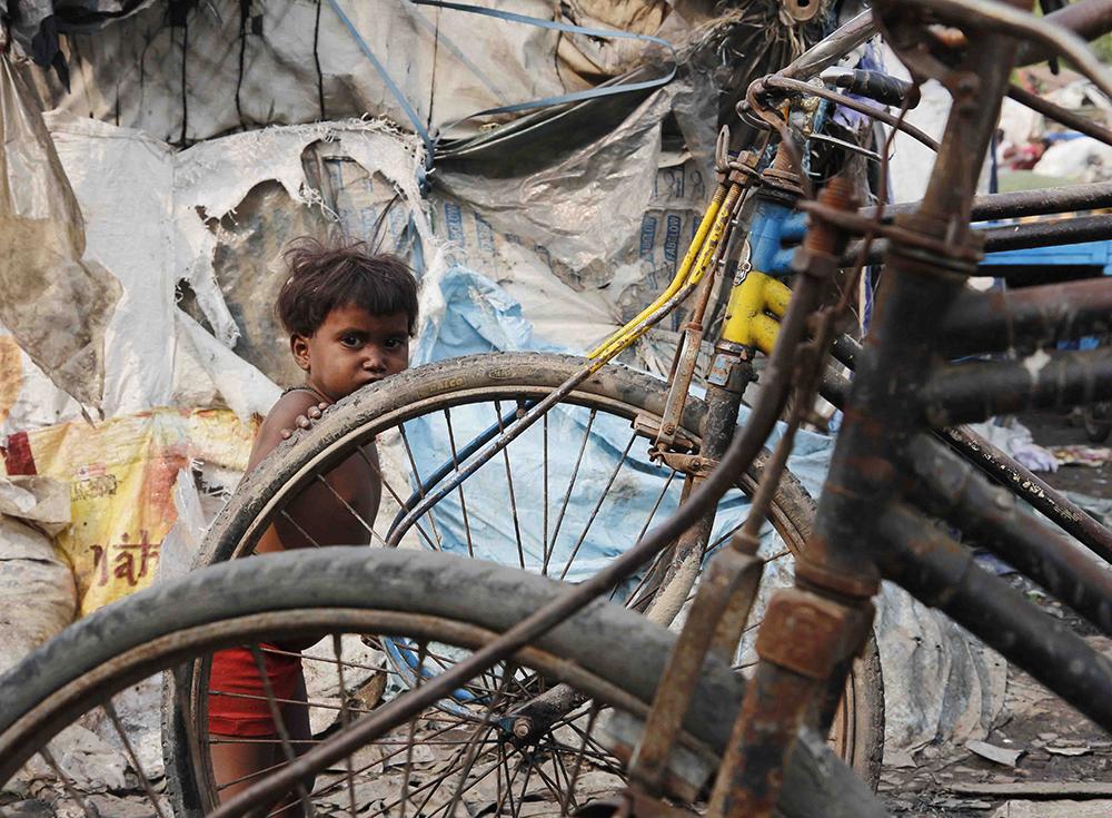 Pobreza Infantil - slums - India - Semilla para el Cambio