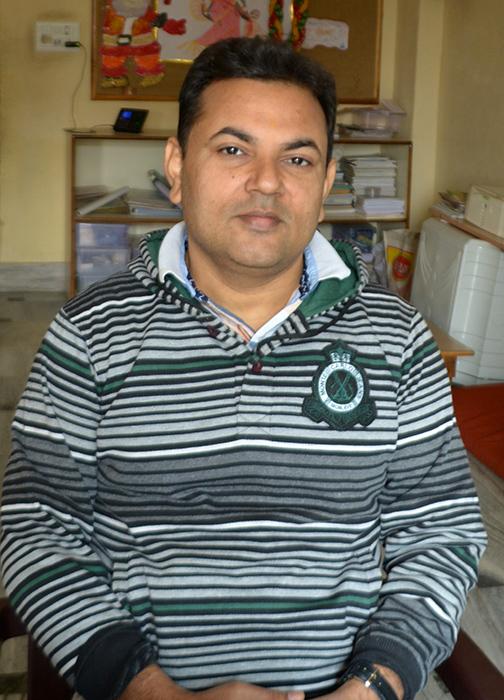 Vivek Srivastava - coordinador -Semilla para el cambio