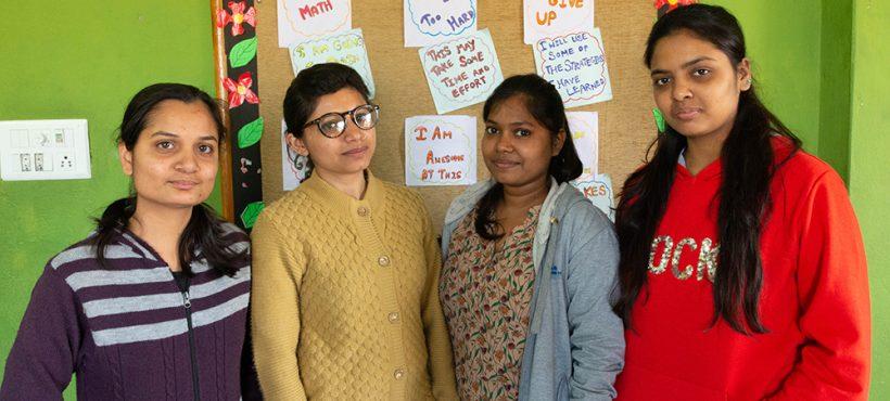 Cuatro nuevas profesoras se incorporan al equipo docente de Semilla para el Cambio